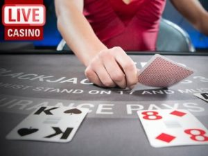 Live dealer games in The Grand Ivy Casino